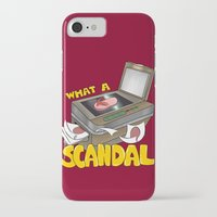 scandal iPhone & iPod Cases featuring Scandal by MinaLotToMe