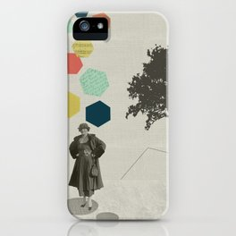 Thinking big thoughts iPhone Case