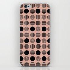 old pink circles iPhone & iPod Skin