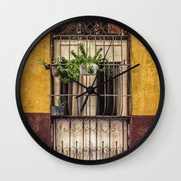 Casco Viejo Door Wall Clock
