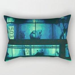 Jungle Apartments Rectangular Pillow