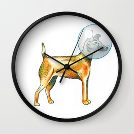 Laika Wall Clock
