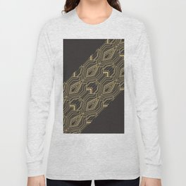 Art Deco Geometric Glam Long Sleeve T-shirt