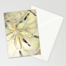 Dollar in the Sand Stationery Cards