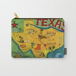 Postcard from Texas print Carry-All Pouch