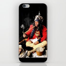 Seneca Tribe Native American 1730 iPhone Skin