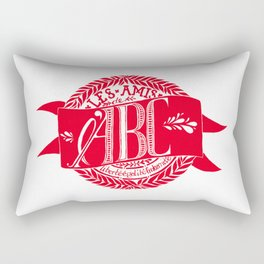 ABC Society Rectangular Pillow