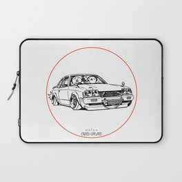 Crazy Car Art 0208 Laptop Sleeve