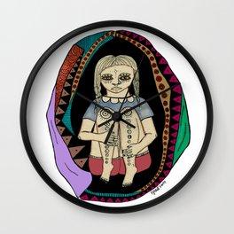 Shell Girl, 2016. Wall Clock