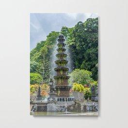 Tirta Gangga palace in Bali  Metal Print