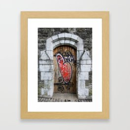 Love is the Message Framed Art Print