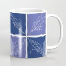Feather Fabric Coffee Mug