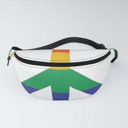 Pride Peace Symbol Rainbow Peace Sign LGBT Fanny Pack