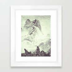 Looking back at Denjiro Framed Art Print