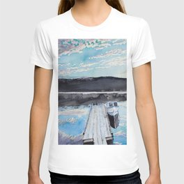 Boat and Dock T-shirt