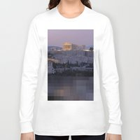 greece Long Sleeve T-shirts featuring Greece by ''CVogiatzi.