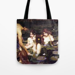 HYLAS AND THE NYMPHS - WATERHOUSE Tote Bag
