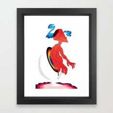 Smoker's Delight Framed Art Print