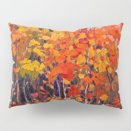 Tom Thomson - Autmn Wood - Canada, Canadian Oil Painting - Group of Seven Pillow Sham