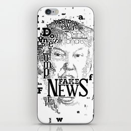 Donald Trump Fake News iPhone Skin