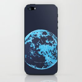 Turquoise Moon iPhone Skin
