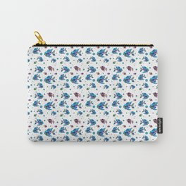 Pattern Fish Blue Rapport Carry-All Pouch