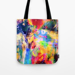 Color Loving Schitzo  Tote Bag