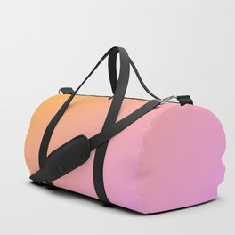 Orange, pink Ombre. Duffle Bag