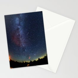 1767. Perseid Meteor Shower Stationery Cards