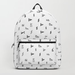 Sketches. Backpack