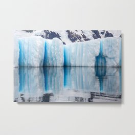 Antarctic Ice - Limited to 10 prints in ANY size! Metal Print