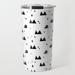 Little Snail Pattern Travel Mug