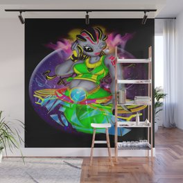 Universal Frequencies Wall Mural