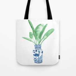 Ginger Jar + Bird of Paradise Tote Bag