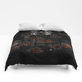 Distracting a Ghost: 1st Rendition  Comforters