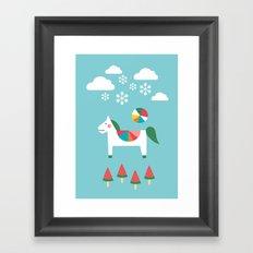 The Snowy Day Framed Art Print