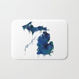 Michigan - wet paint Bath Mat