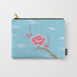 Plum and Dragon Carry-All Pouch