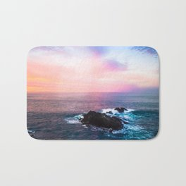 Sunset on the Bay of Biscay Bath Mat