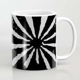 Black Sunburst Coffee Mug