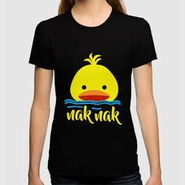 Duck playing in the water T-shirt