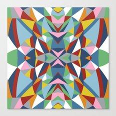 Abstract Kite Canvas Print