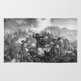 General Custer's Death Struggle Rug