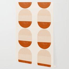 Mid century modern, mid-century wall art, print, geometric wall art, abstract wall art, interior, ma Wallpaper