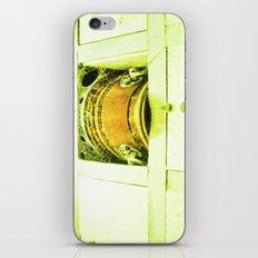 Dead human casket. iPhone & iPod Skin