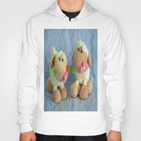 silence of the lambs Hoodies featuring Little Lambs by Frankie Cat