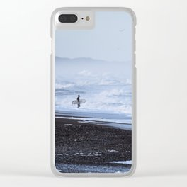Surf Clear iPhone Case