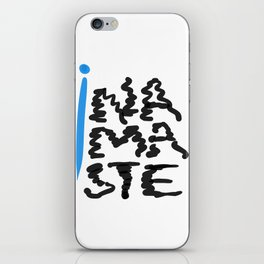 Namaste scribbles  iPhone Skin