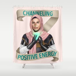 Cleric: Channeling Positive Energy Shower Curtain