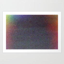Rainbow Grain 35mm Film Art Print